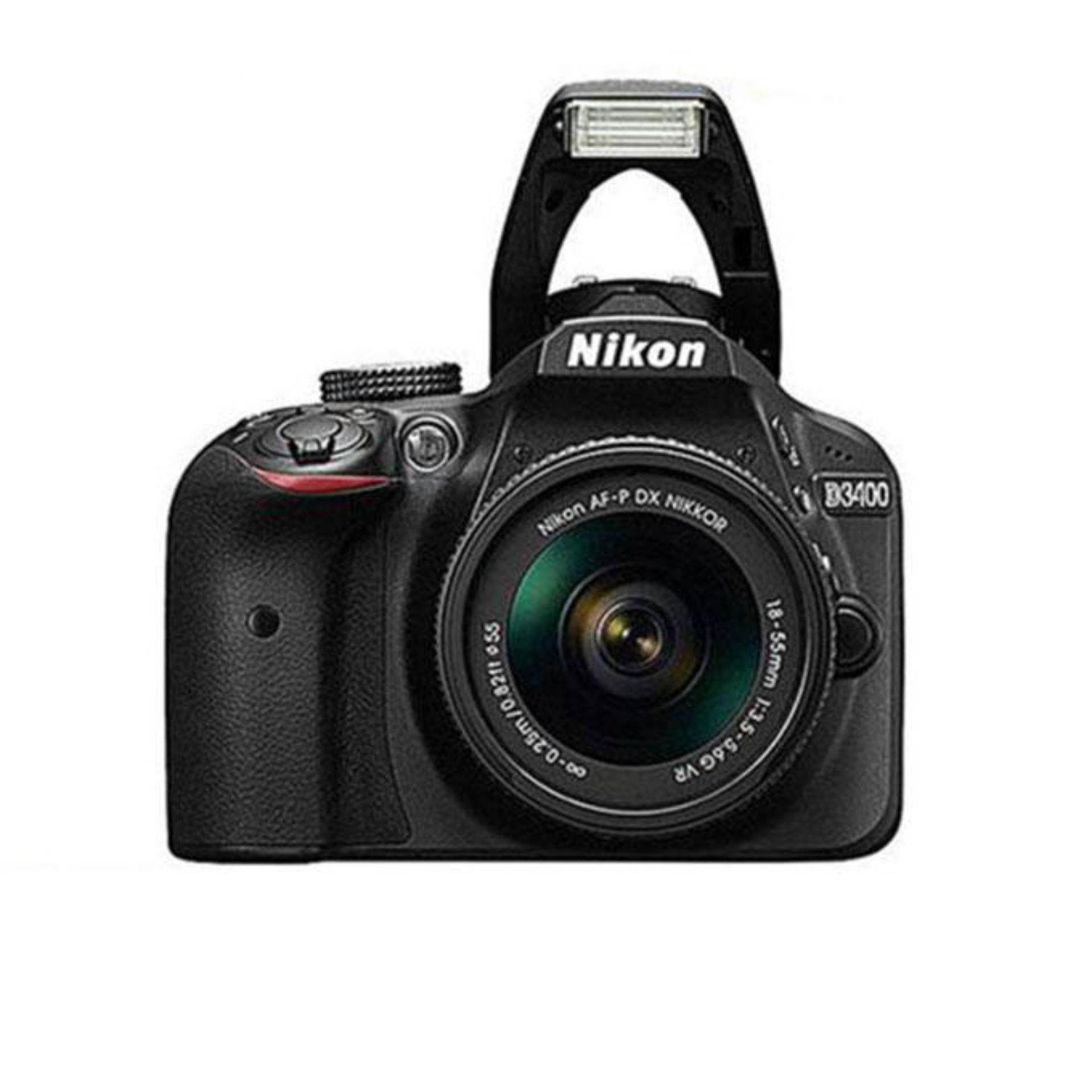 Nikon Buy At Best Price In Bangladesh Cleaning Kit 7 1 D3400 242mp Dslr Camera With 18 55mm Lens Black