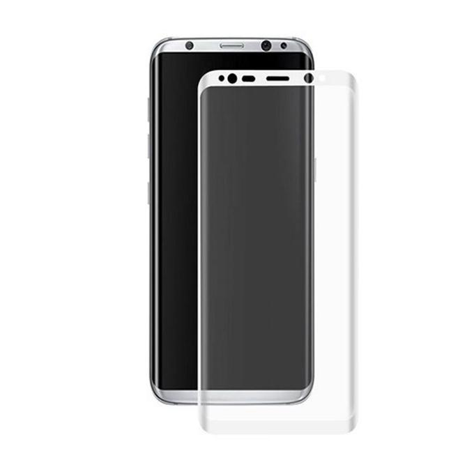 3D Tempered Glass Film for Samsung Galaxy S8 Plus - Transparent