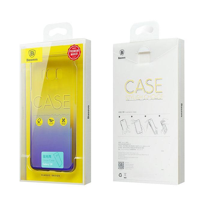 Gradual Protective Skin PC Hard Back Cover Case For Samsung Galaxy S8 - Multicolor