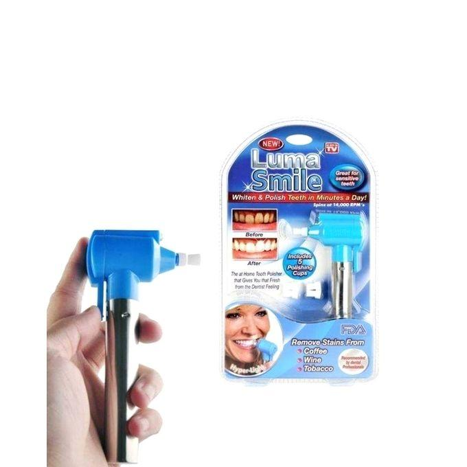 Luma Smile Tooth Polish and Whitening Kit - Silver and Blue