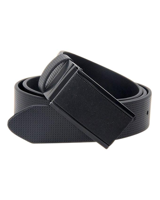 PU Belt For Men - Black