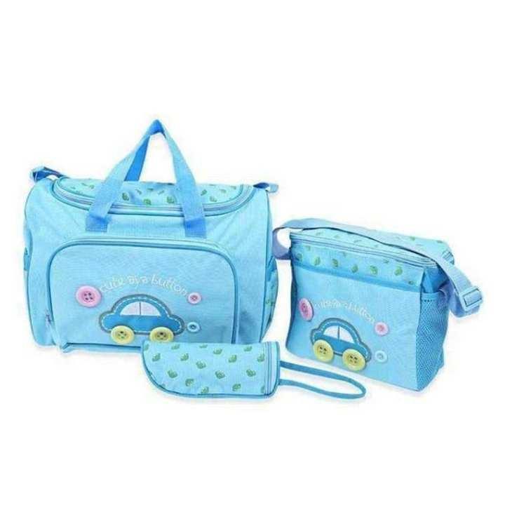 Multi-functional Mother Bag - Sky Blue