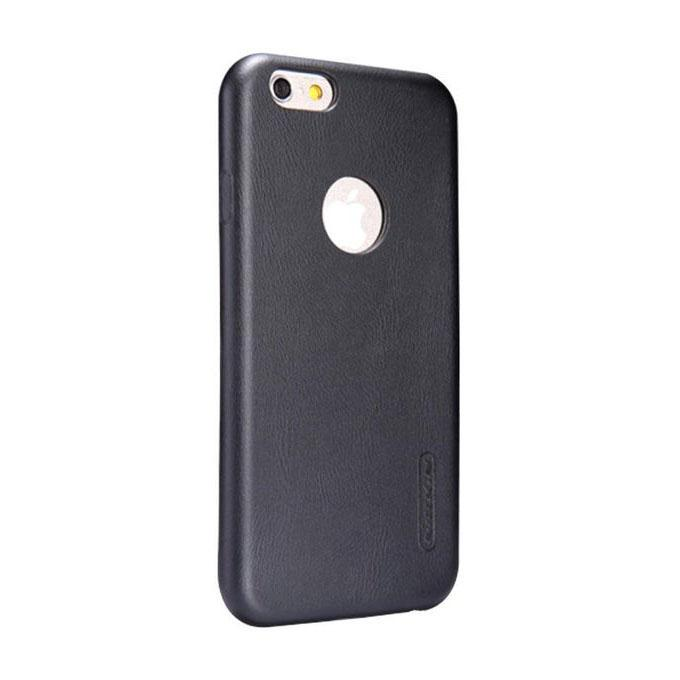Super Frosted Shield Back Case for iPhone 6 Plus - Black