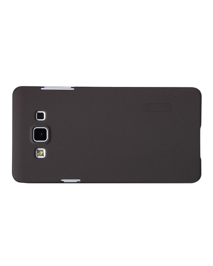 Samsung Galaxy A7 A700 Super Frosted Shield Back Case - Black