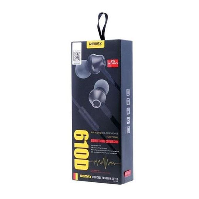 RM-610D In-Ear Earphone - Black