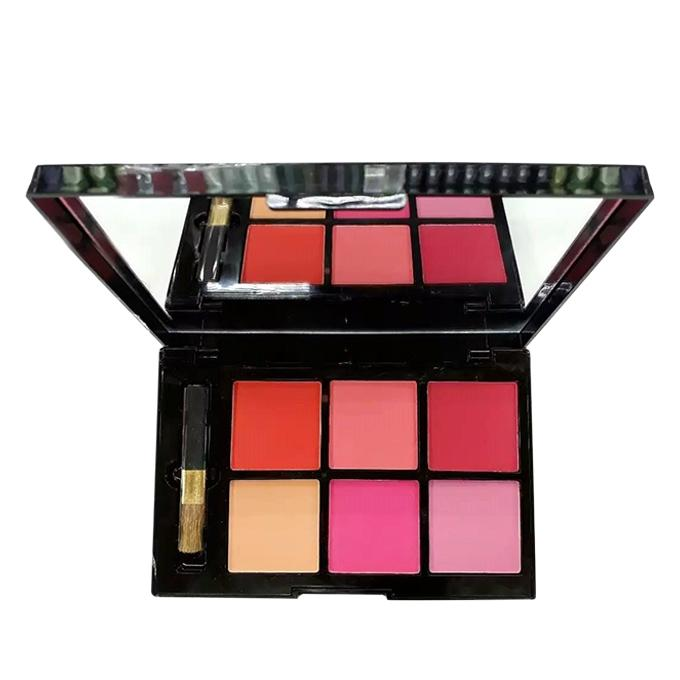 6 Color Matte Blusher For Women - Shade 1