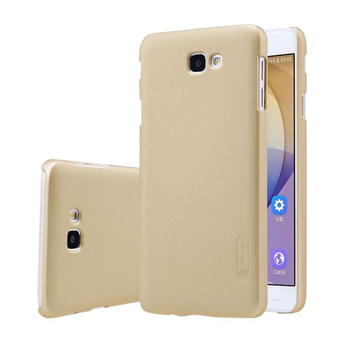 Gold Super Frosted Shield Back Cover for Samsung Galaxy J7 Prime