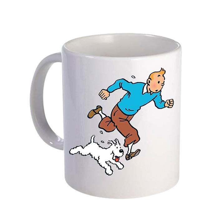 Tintin Ceramic  Mug - White