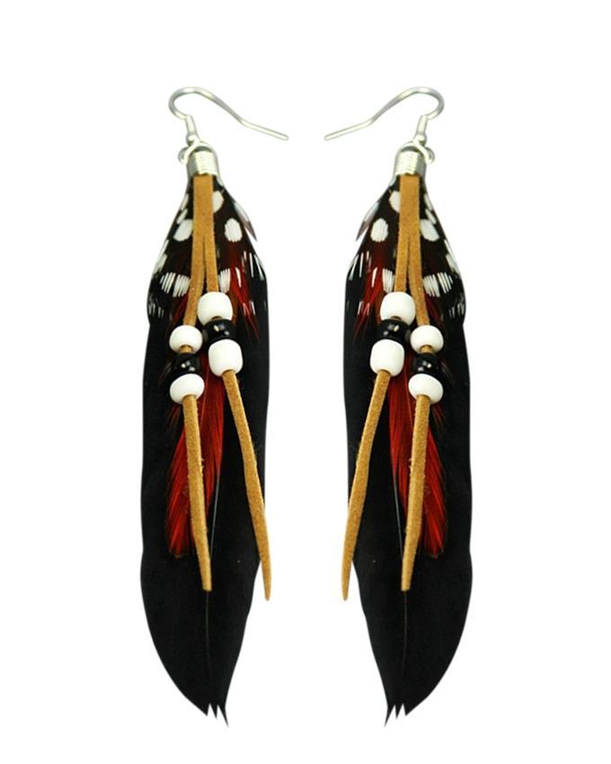 Black Resin Earring For Women