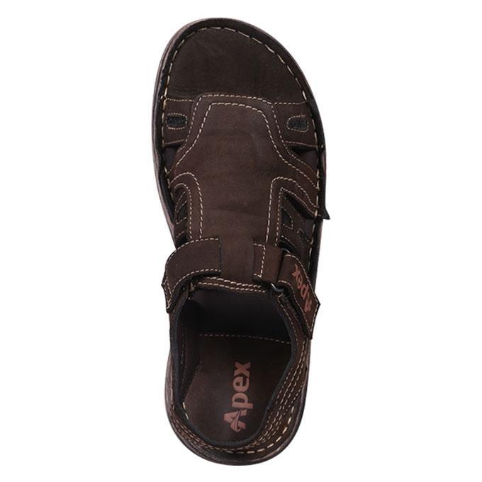 Brown Leather Sandal for Men