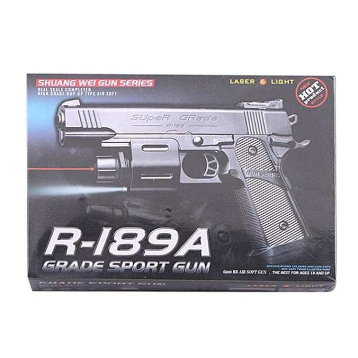 Sport Toy Gun - Black