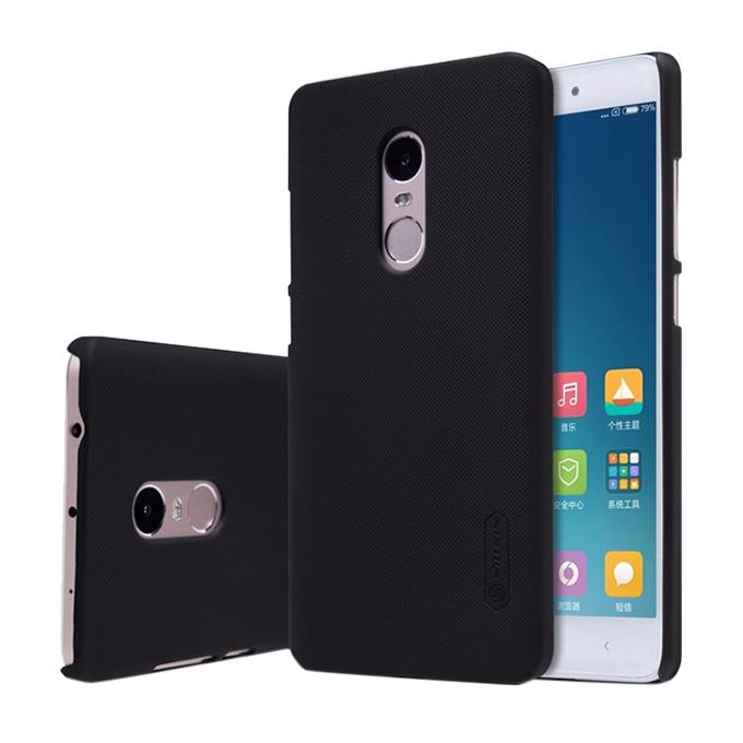 Super Frosted Shield Back Cover for XIAOMI RedMi Note 4 - Black