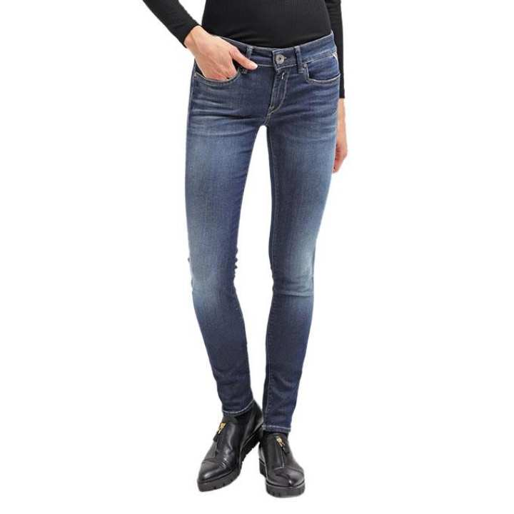 Navy Blue Denim Jeans For Women
