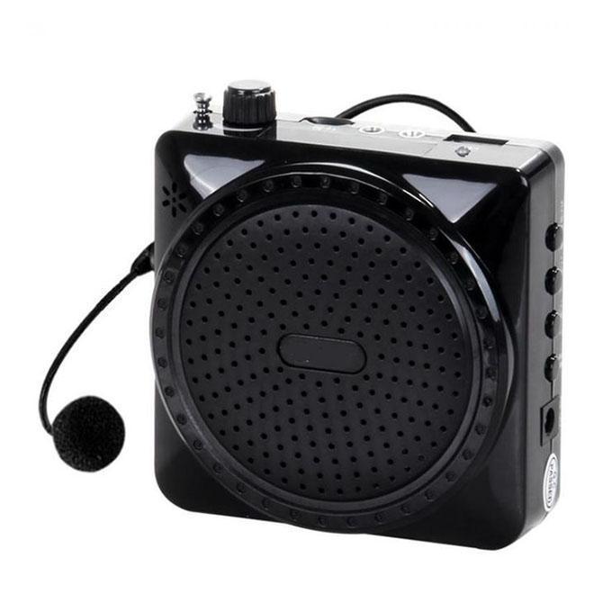 Portable Voice Amplifier Speaker Microphone Megaphone - Black