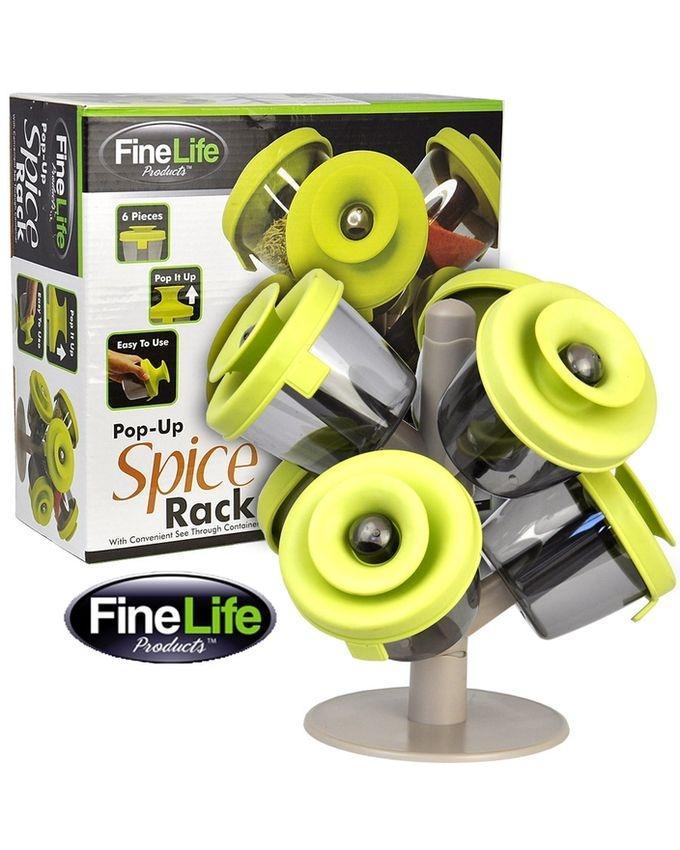 Pop Up Spice Rack-6 PCs Set