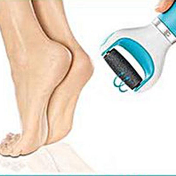 Velvet Foot Massager Roller Electric Pedicure for Foot Care