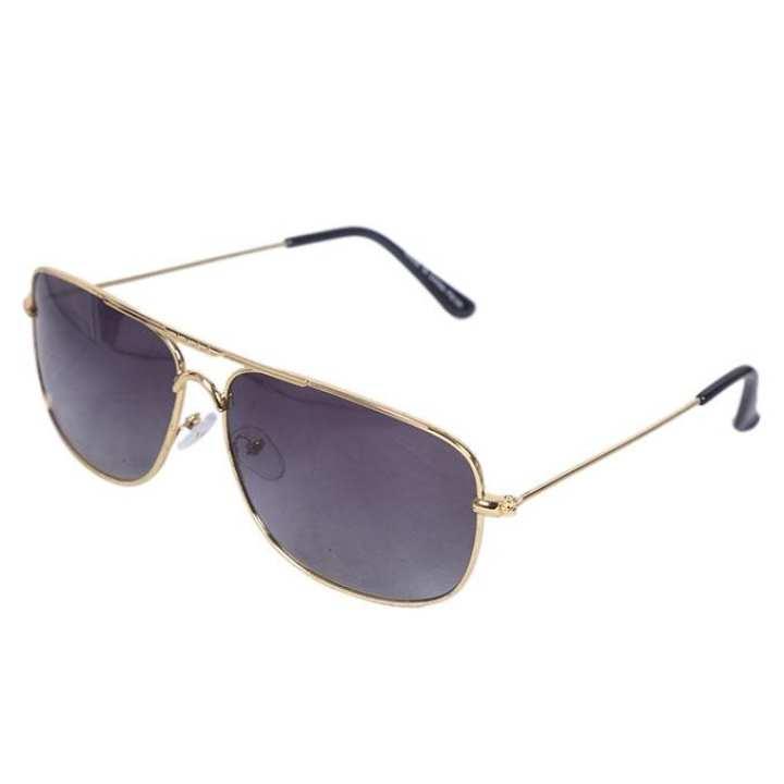 Golden Metal Sunglasses for Men