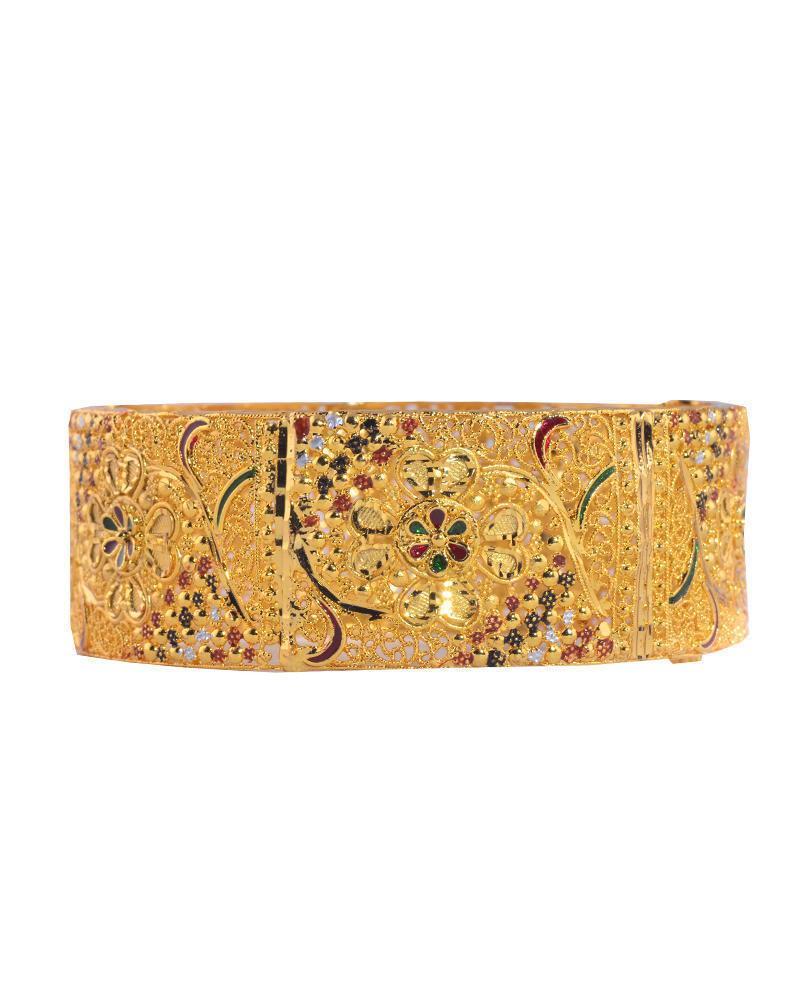 Brass Bangles - Golden