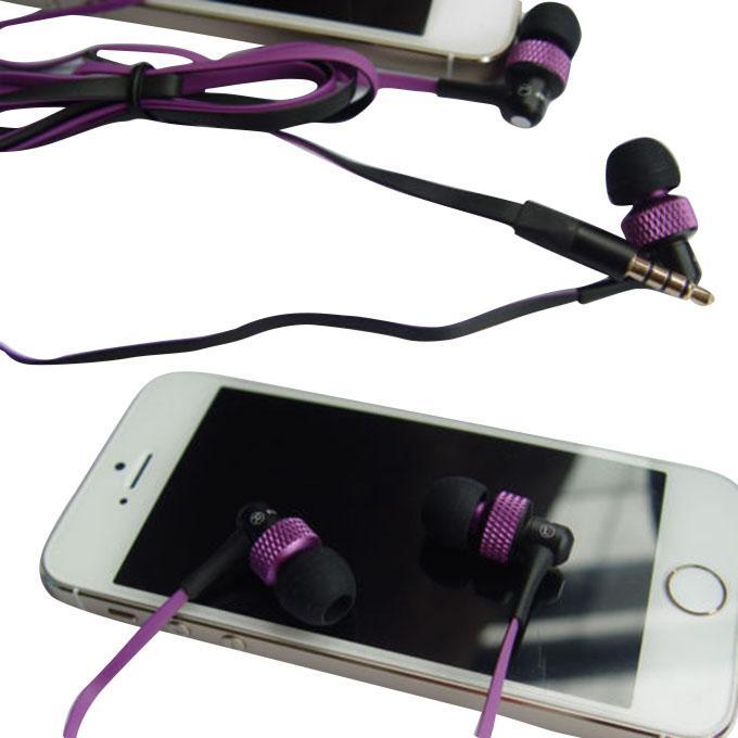 S40Vi Wired In-Ear Earphone - Black and Purple