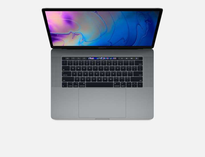 "MacBook Pro Model-A1990 - Intel Core i7 - 6-Core - 16GB RAM - 256GB SSD - Radeon Pro 555X with 4GB Graphics - 15.4"" - Laptop - Space Grey"