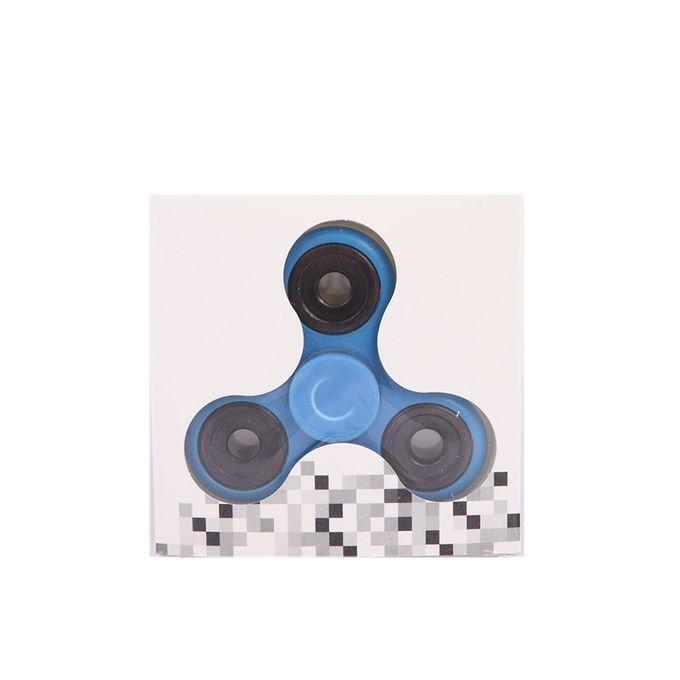 Tri Fidget Spinner Stress Reducer Toy – Blue