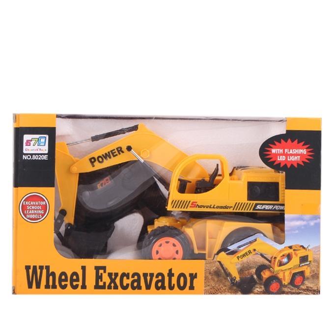Construction Truck - Yellow