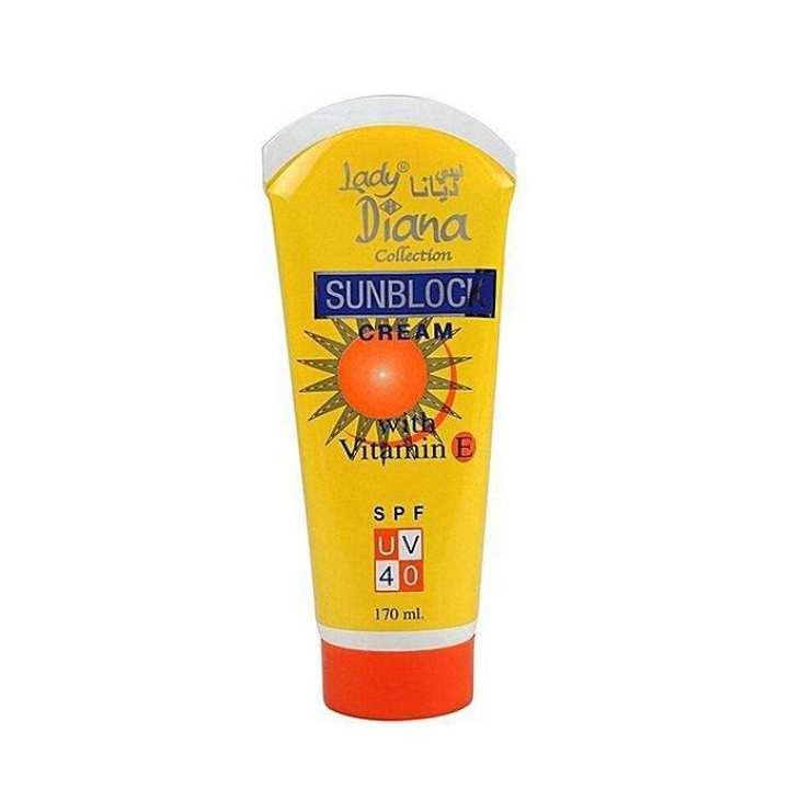 Sunblock Cream UV 40 for Women - 170gm