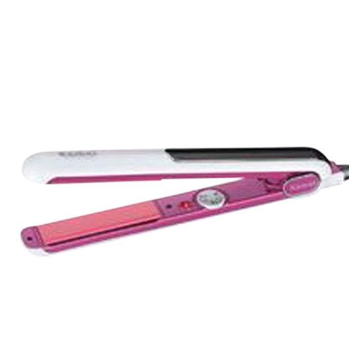 KM-1883 Hair Straightener Machine - White