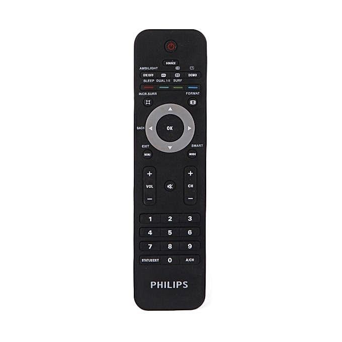 Philips LCD/LED TV Remote - Black