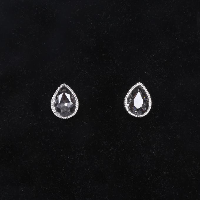White Metal And Stone Jewellery Set For Women
