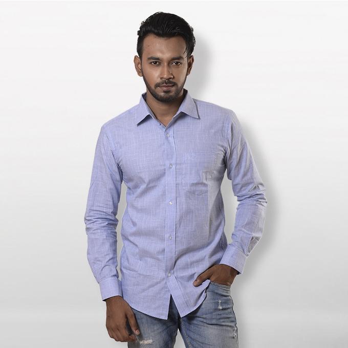 Sky Cotton Shirt For Men