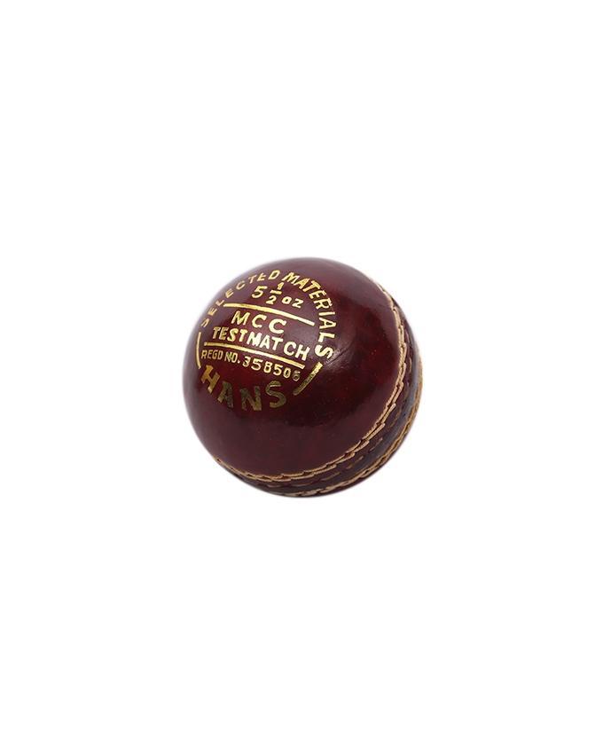 Cricket Ball - Dark Red