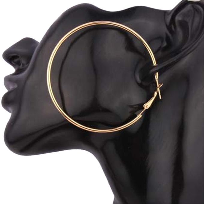Golden Zinc Alloy Earring for Women