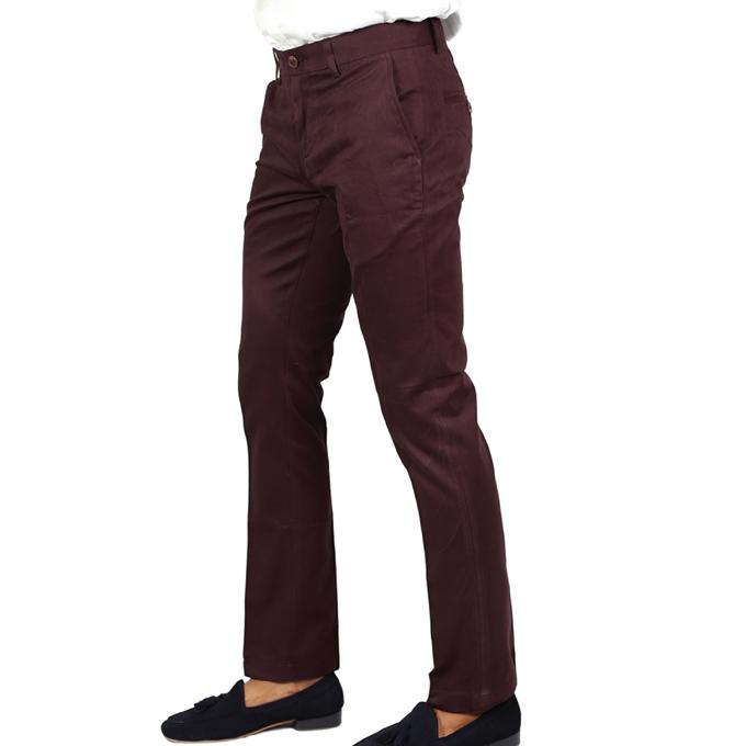 Plump Twill Formal Pant For Men