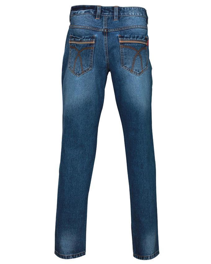 Denim Casual Jeans Pants - Dark Blue