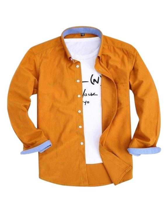 Peru Cotton Long Sleeve Casual Shirt for Men