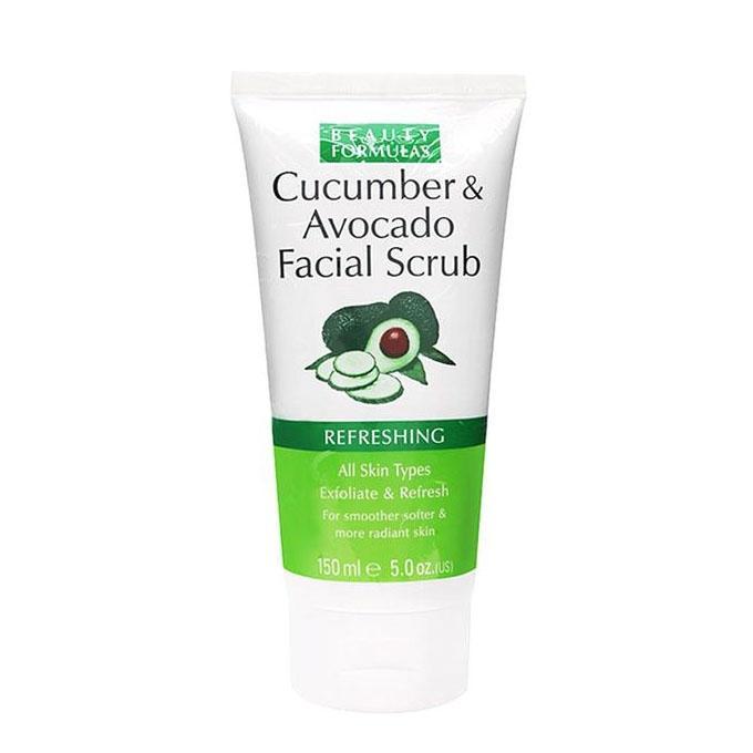 Cucumber & Avocado Facial Scrub – 150ml