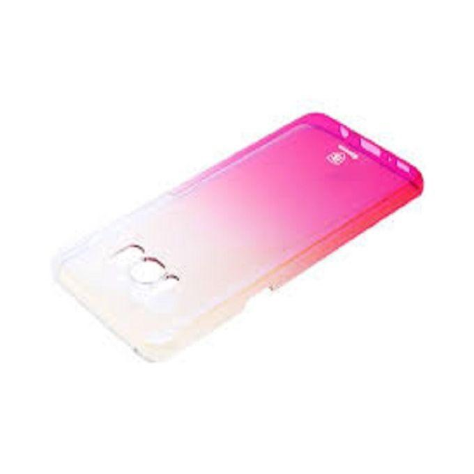 Gradual Protective Skin PC Hard Back Cover Case for Samsung Galaxy S8 - Pink