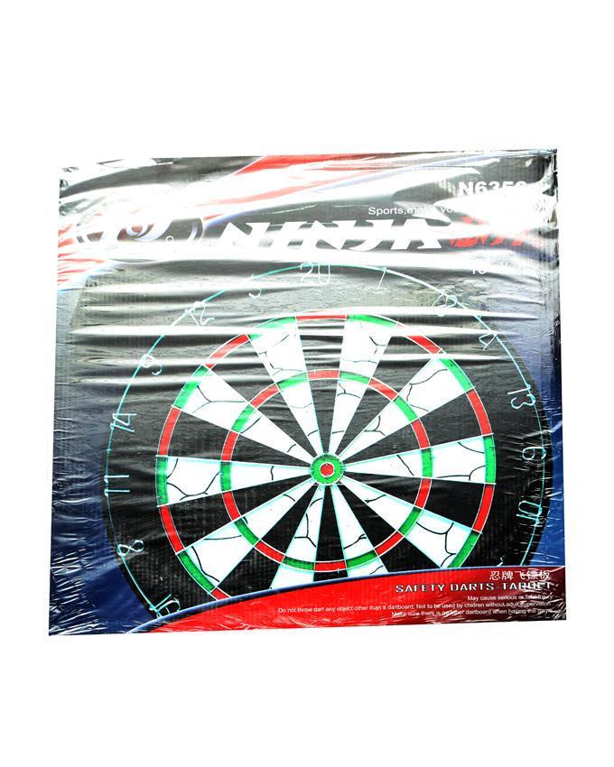 17 Dart Board - Black and White