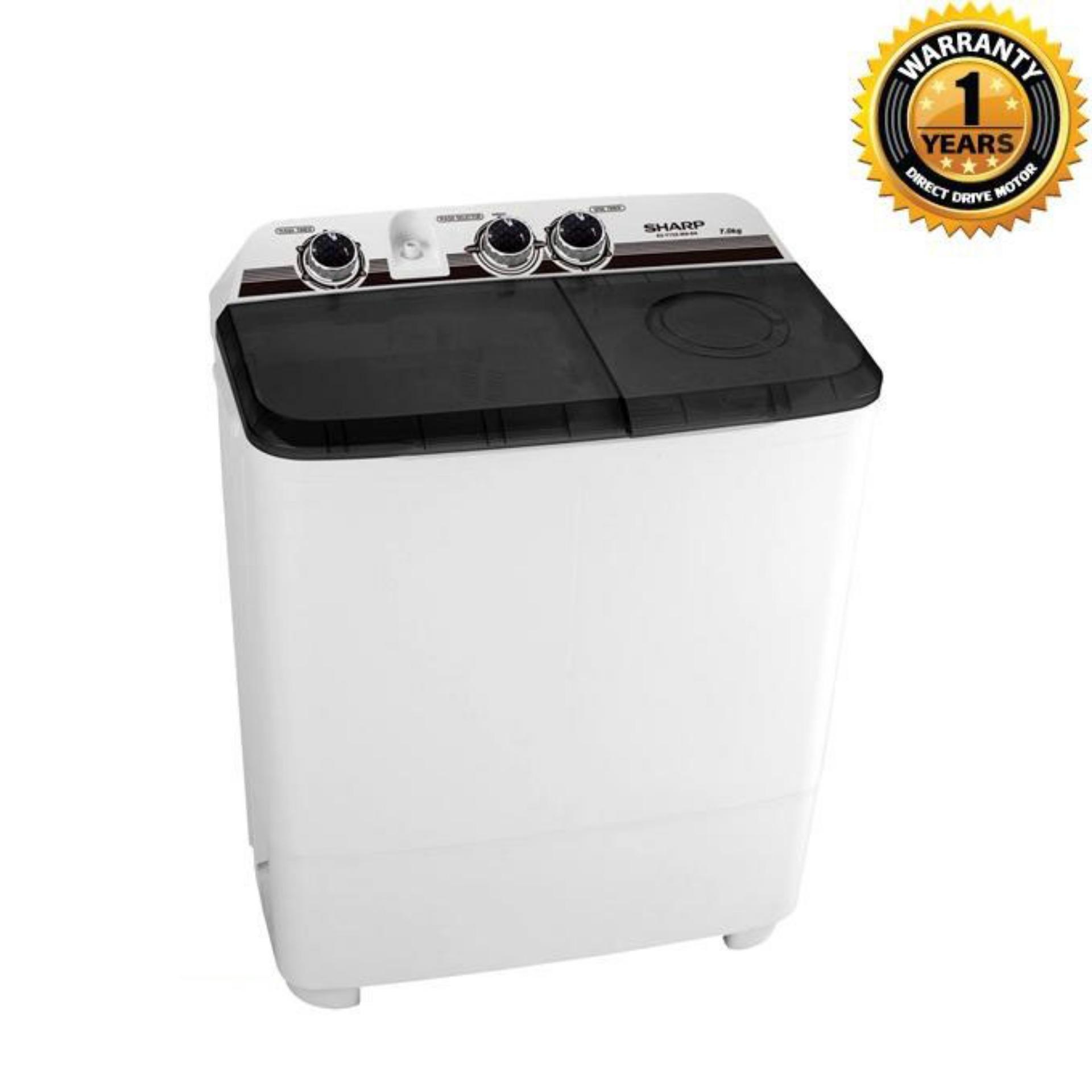ES-T75X-WN - Manual Washing Machine - 7 KG - White