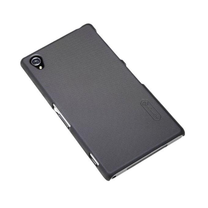 Sony Xperia Z1 L39H Super Frosted Shield Back Case - Black