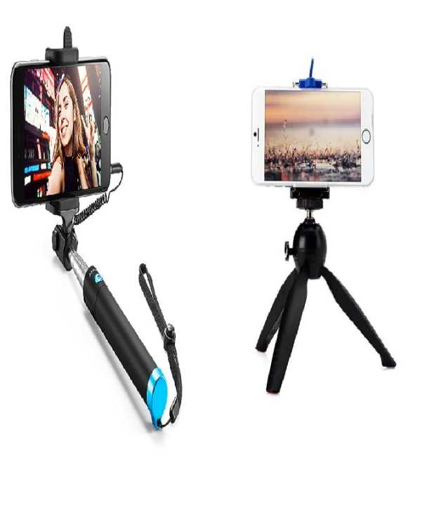 Mobile Phone Stand With Selfie Stick