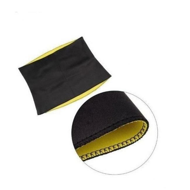 Slimming Shaper Belt - Black and Yellow