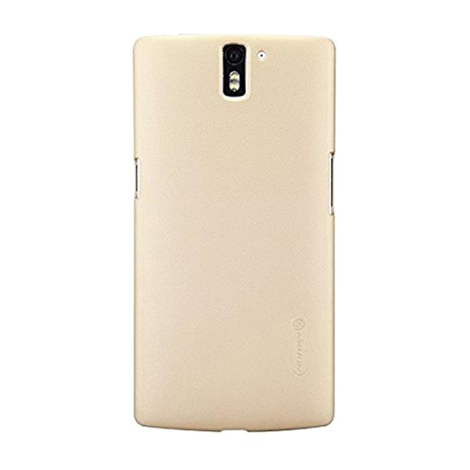 Super Frosted Shield Back Cover for OnePlus A0001 - Golden