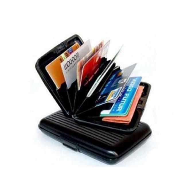 Silicone Card Holder - Black