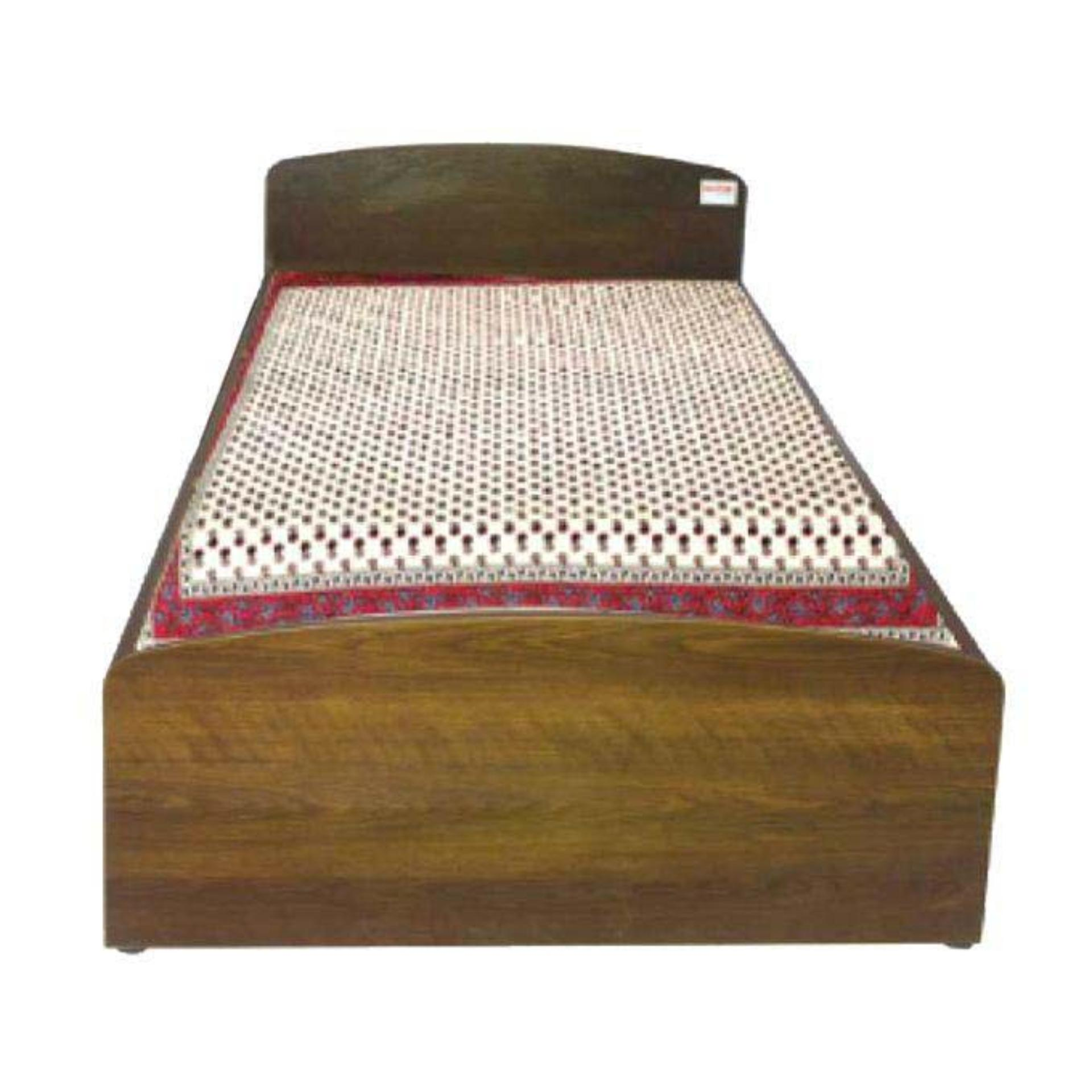 Delicieux HBSH 101 4 10 Laminated Board Single Bed   Antique