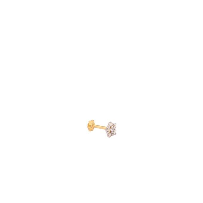 Diamond Nosepin Fancy Big 5 Stone 10CT