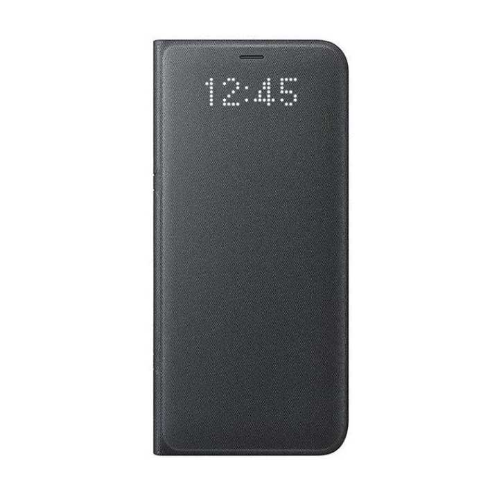 LED View Cover For Galaxy S8 - Black