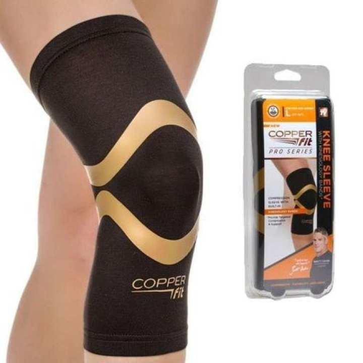 Copper Fit Pro Series Knee Sleeve - Black