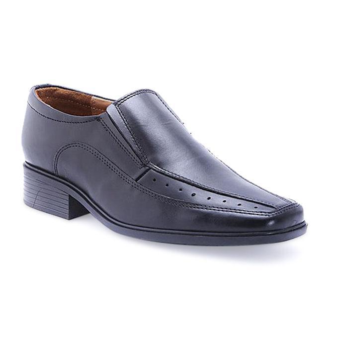 Leather Formal Shoe - Black